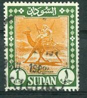 BM Sudan 1962 | MiNr 192 AY [1975] (o.Wz.) | Used | Landesmotive, Kamelpostreiter - Sudan (1954-...)