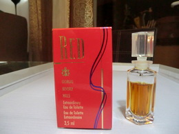 RED - EDT Extraordinaire 3,5 ML De GIORGIO BEVERLY HILLS - Miniatures Womens' Fragrances (in Box)