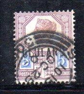 XP4611 - ZULULAND 1888 , Yvert N. 7  Usato (2380A) . - Sud Africa (...-1961)