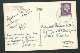 Carte Postale De Turquie Affranchie Pour La France ( Année ? )   - Qaa 5719 - 1921-... République