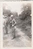 Photo Militaire : Vietnam : Tra Vinh : Lt. Fuseret : Opération En Cours : 1948 : ( 6cm X 9cm ) - War, Military