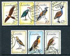 Lesotho 1971 Birds Set Used (SG 204-210) - Lesotho (1966-...)