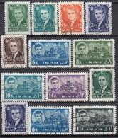 IRAN 1962 - MiNr: 1126-1266 Lot 13x  Used - Iran