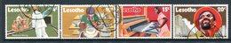 Lesotho 1971 Development Set Used (SG 215-218) - Lesotho (1966-...)