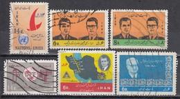 IRAN 1964 - 1965  Lot 6x  Used - Iran