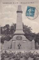 Meurthe-et-Moselle - Azerailles - Monument Aux Morts - France