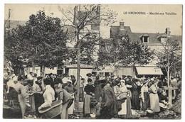CPA 27 LE NEUBOURG Marché Aux Volailles - Le Neubourg