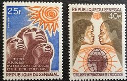 Senegal 1970 International Education Year - Senegal (1960-...)