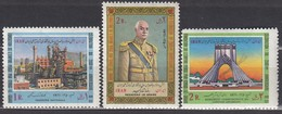 IRAN 1971   MiNr: 1521+1522+1527  **/MNH - Iran