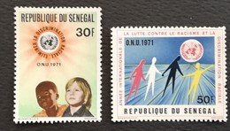 Senegal 1971 International Year Against Racial Discrimination - Sénégal (1960-...)