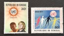 Senegal 1971 International Year Against Racial Discrimination - Senegal (1960-...)