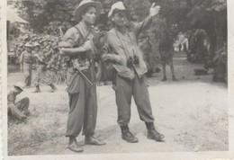 Photo Militaire : Vietnam : Tra Vinh : La Piste à Prendre : Opération En Cours : 1948 : ( 6cm X 9cm ) - War, Military
