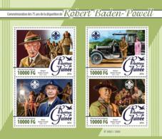 Guinea   2016  Robert Baden-Powell Scouting - Guinée (1958-...)