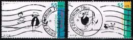 Bund 2004, Michel# 2350 - 2351 O EM Aus Block 63 - [7] République Fédérale