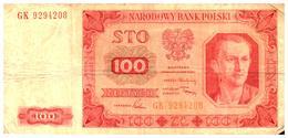 Billets > Pologne 100Zlotych  1948 - Pologne
