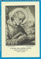 Holycard    Abdij Westmalle    St. Hugo De Castro Novo V. Bonnevaux - Devotion Images