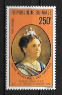 PA - 1977 - N° 295 **MNH - Reine Wilhelmine Des Pays-Bas - Mali (1959-...)