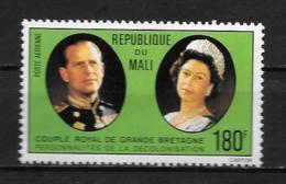 PA - 1977 - N° 293 **MNH - Couple Royal De Grande-Bretagne - Mali (1959-...)