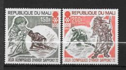 PA - 1972 - N° 140 à 141 **MNH - Jeux Olympiques De Sapporo - Mali (1959-...)