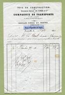 """JOINVILLE  (52) : """" BOIS DE CONSTRUCTION """"  1871 - France"""