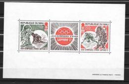 BF - 1972 - N° 5 **MNH - Jeux Olympiques De SApporo - Mali (1959-...)