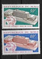 1970 - N° 135 à 136 **MNH - Nouveau Bâtiment Siège Upu à Berne - Mali (1959-...)