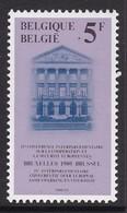 TIMBRE NEUF DE BELGIQUE - 4E CONFERENCE INTERPARLEMENTAIRE SUR LA CCOPERATION ET LA SECURITE EN EUROPE N° Y&T 1973 - Institutions Européennes