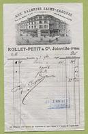 """JOINVILLE  (52) : """" AUX GALERIES SAINT-JACQUES - Rollet-Petit & Cie """"  1891 - France"""