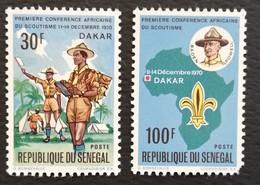 Senegal 1970 Boy Scouts - Sénégal (1960-...)