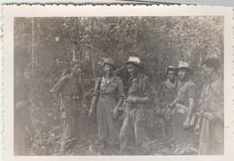 Photo Militaire : Vietnam : Tra Vinh : Le Commandement : Opération En Cours : 1948 : ( 6cm X 9cm ) - War, Military