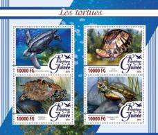 Guinea   2016  Fauna  Turtles - Guinée (1958-...)