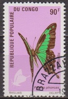 Faune, Insectes - CONGO - Papillon: Papilio Phorcas - N° 306 - 1971 - Congo - Brazzaville
