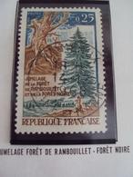 """60-69- Timbre Oblitéré N° 1561    """" Jumelage Foret Noire      """"          0.30 - France"""