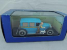 TINTIN HERGE TAXI CHECKER TINTIN EN AMERIQUE NEW IN BOX - Automobili