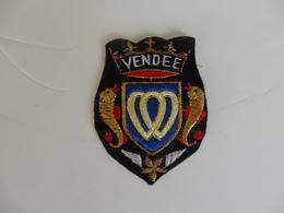 Ecusson Vendée. - Scudetti In Tela