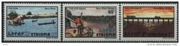 1981 Etiopia, Inaugurazione Sul Ponte Del Baro, Serie Completa Nuova (**) - Etiopia