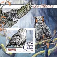 Guinea   2016  Fauna  Owls - Guinée (1958-...)
