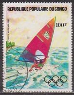 Sport Olympique - CONGO - Planche à Voile - N° 304 - 1983 - Gebraucht