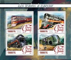 Guinea   2016  Steam Trains - Guinée (1958-...)