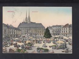 Slovakia PPC Brünn Brno Market 1914 - Slovakia