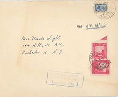 Brief Bogota Taquilla - Kommunikation (kleinste Marke Der Welt??) Cartagena - Colombie
