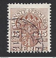 Schweden, Dienstpost, 1910, Michel-Nr. 23, Gestempelt - Servizio