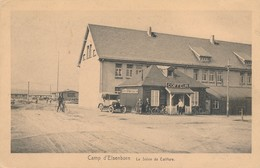 CPA - Belgique - Elsenborn (camp) - Camp D'Elsenborn - Le Salon De Coiffure - Elsenborn (Kamp)