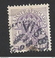 Schweden, Dienstpost, 1910, Michel-Nr. 19, Gestempelt - Servizio