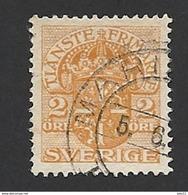 Schweden, Dienstpost, 1910, Michel-Nr. 18, Gestempelt - Servizio