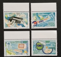 Senegal 1990 Postal Services - Sénégal (1960-...)