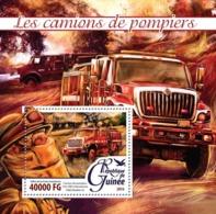 Guinea   2016  Fire Trucks - Guinée (1958-...)