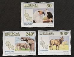 Senegal 1997 Niokolo-Badiar Natl.Park LOT - Sénégal (1960-...)