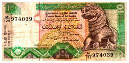 Billets > Sri Lanka 10 Roupies 1994 - Sri Lanka