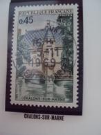 """60-69- Timbre Oblitéré N°   1602   """"  Chalons Sur Marne      """"   0.50 - France"""